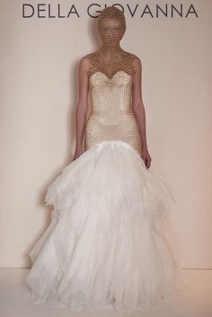 @futureclaw featured all 16 edgy bridal designs by @dellagiovanna