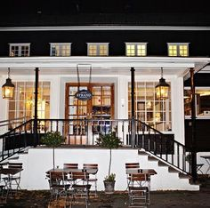Strand Restaurant Bærum Norway. I had an absolutely exquisite meal here - a wonderful meal with new friends.