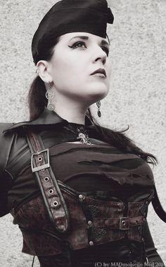 DIESELPUNK Commander Meli II by MADmoiselleMeli.deviantart.com on @deviantART