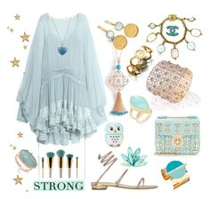 """""""Fancy Nancy"""" by ellenfischerbeauty ❤ liked on Polyvore featuring Chloé, Piaget, René Caovilla, Chanel, Forever 21, Blu Bijoux, Tory Burch, Marco Bicego, Anna Beck and Monica Vinader"""