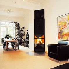 Archifocus Wall Mounted Fire