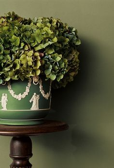 Mix the rustic and refined. Ralph Lauren Paint's sophisticated Angler Green from the Modern Naturals palette.
