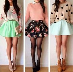 Cute short skirts