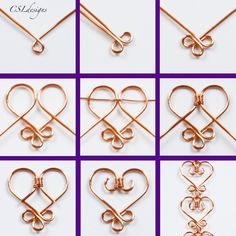Diy Jewelry Tutorials Necklace Jewellery 44 Ideas For 2019 Bijoux Wire Wrap, Wire Wrapped Jewelry, Wire Jewelry Making, Jewelry Making Tutorials, Jewellery Making, Jewellery Shops, Jewellery Box, Jewlery, Jewelry Stores