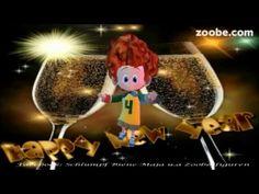 Silvester - Glück im neuen JahrHappy new Year Neujahr, Zoobe, Animation - YouTube