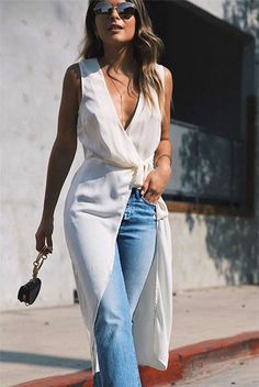 The nordstrom anniversary sale dress over jeans, casual dinner outfit summe Mode Outfits, Chic Outfits, Spring Outfits, Fashion Outfits, Woman Outfits, Night Outfits, Dress Outfits, Womens Fashion, Summer Jean Outfits