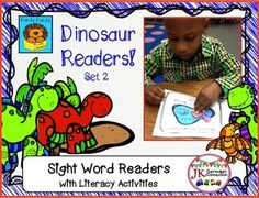DINOSAURS! Beginning Readers for Guided Reading – Set 2 {CCSS}
