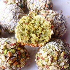 boules amande pistache | Healthy Flavor l Recette cuisine
