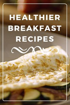 Slide off the pan and into swimsuit season. PAM Olive Oil Cooking Spray helps you cut added fat and calories when you substitute for butter or oil in these healthier breakfast recipes. #HealthierRecipes