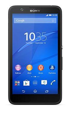 Sony Xperia E4 SIM-Free Smartphone - Black: Amazon.co.uk: Electronics