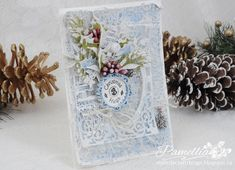 Crafty Cardmakers - #129 - Christmas - Lots of Hugs & Glitter!