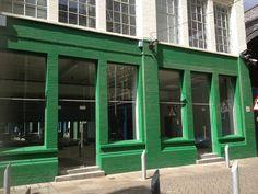 Beautiful Green Shop front