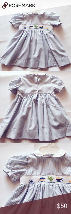 Vive la Fete Smocked dress NWOT vive la fete Dresses