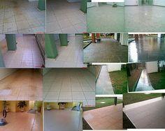 GOYAZLIMP - Limpeza de Pisos e Pedras ,Pós-obra Fazemos Impermeabilização de pisos em geral: Limpeza de pisos ANTES E DEPOIS