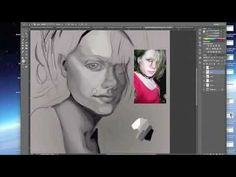 Custom Digital Portrait  Happy birthday Brianna!!! — Phoenix Artist Anjeanette Illustration