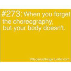 wenn die Musik anfängt zu spielen weiß man die Choreographie einfach wieder