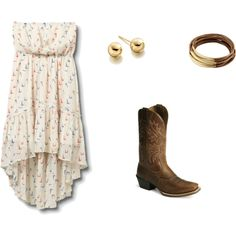 Country Chic, created by bamagrl07 on Polyvore