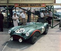 17 Sebring56 AstonMartin 1956 Sebring 12 Hours Grand Prix   Race Profile