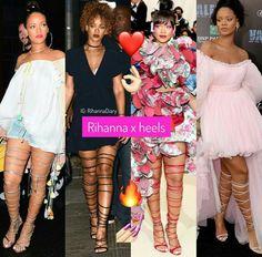Rihanna ✖ heels