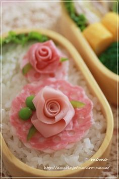 Rose bento
