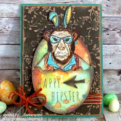 Happy Hipster by Barbarayaya - Cards and Paper Crafts at Splitcoaststampers