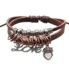 Fashion Lady Retro Love Heart Beads Metal Leather Brown Weave Bracelet Strands Bracelet Suede Rope Bracelet Gift Whatland,http://www.amazon.com/dp/B00J3P982O/ref=cm_sw_r_pi_dp_KqcEtb1ZSCXBA27B