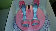 High heels cake