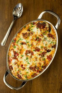 Eggplant and Italian Sausage Gratin is bursting with delicious Italian flavor. It's a dinner party worthy meal that can be made in advance and just popped in the oven at the last minute! Quiche, Italian Dishes, Italian Entrees, Greek Recipes, Best Italian Recipes, Dinner Recipes, Dinner Entrees, Cooking Recipes, Cooking Corn