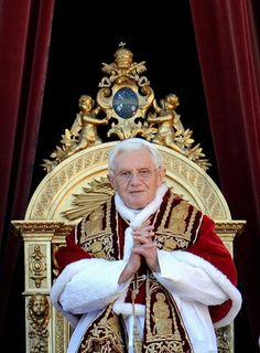 Looking like a pope!!! Love it!