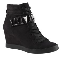 HERTEN women's shoes wedge sneakers on sale $45!   Yes, I think I have caved.