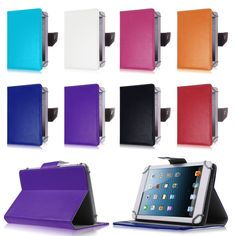 PU Leather Magnetic Cover Case For Wexler Tab 8iQ/Wexler .Tab 8iQ/Wexler.Tab 8iQ 8 inch Universal Tablet Accessories & Pen #Affiliate