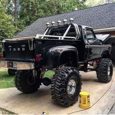 Awesome Lifted Ford Truck