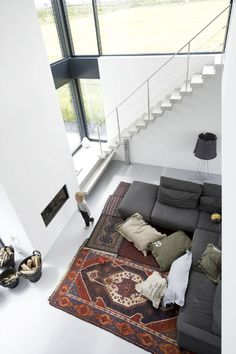 love the floor hang out space