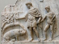 Bestiaria Latina Blog: Myths and Legends: Aeneas and the Omen of the Sow