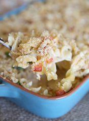 Creamy Chicken Noodle Casserole - Our Best Bites