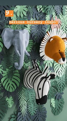 Safari Nursery - My Store Jungle Theme Rooms, Jungle Theme Nursery, Jungle Room, Nursery Themes, Themed Nursery, Nursery Ideas, Safari Bedroom, Animal Bedroom, Animal Nursery