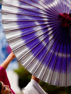 Japanese umbrella.