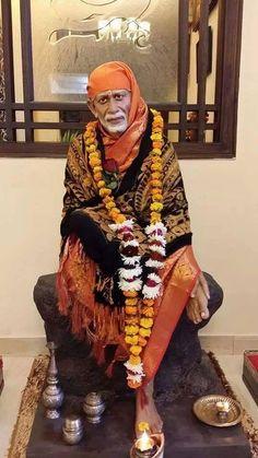 Sai Fulfilled Our Dream With His Blessings Sai Baba Photos, Sai Baba Pictures, God Pictures, Sai Baba Hd Wallpaper, Sai Baba Wallpapers, Shree Ganesh, Ganesha, Sai Baba Miracles, Shiva Photos