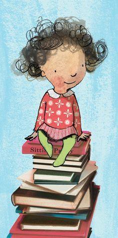 Pinzellades al món: Il·lustracions de Sarah Massini: xiquetes i xiquets jugant i llegint