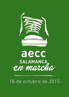 Salamanca en marcha contra el cáncer el 18 de octubre #aeccenmarcha