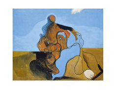 Max Ernst, The Kiss, Archival Print