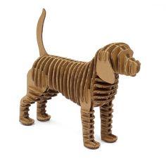 Papierfigur Hund von CREMBO