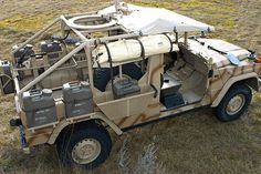 "Das wüstentaugliche Puch G Special Operations Vehicle erhielt den Spitznamen ""Sandviper"" / The Puch G 290/LP Special Operations Vehicle was modified for desert conditions and is therefore nicknamed the ""Sandviper""."