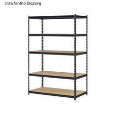 Steel Ultra Bolt-Less Storage Rack W/ 5 Adjustable Shelves 4000 LBS Capacity New #Edsal