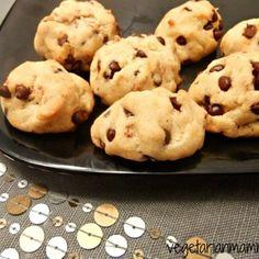 Orange Chocolate Chip Cookies – vegan, Sounds different.