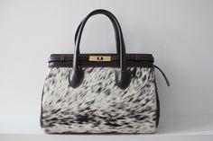Cowhide handbag. CA$250