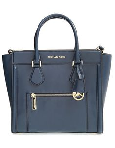 Michael Kors Large Colette Zip Detail Satchel ($398)