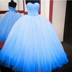 Charming Prom Dress, Ball Gown Tulle Prom Dresses,