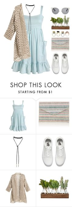 """""""Marcella"""" by brie-the-pixie ❤ liked on Polyvore featuring Barneys New York, Vans and Christian Dior"""