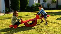 How to build a see-saw: Kids love see-saws, so imagine their delight when you make them their very own. And see-saws don't come any more budget friendly than this little beauty. All you need is a few pieces of plywood, an old tyre and a little paint. The seesaw is light enough to move around so, if one area of your lawn is becoming worn, just relocate it to another spot. This is a wonderful project for using up scrap materials and, of course, repurposing an old tyre.
